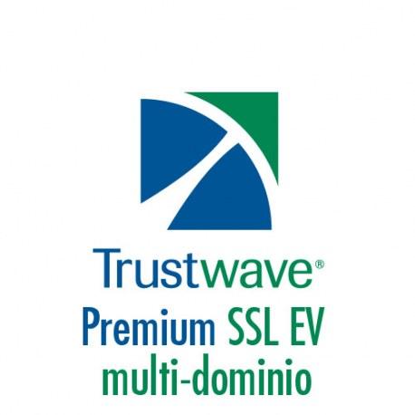Certificato Trustwave Premium SSL EV Multi-dominio