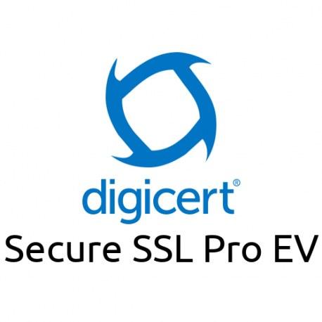 Digicert Secure SSL Pro EV