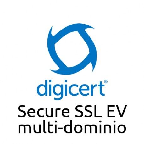 Digicert Secure SSL EV SAN