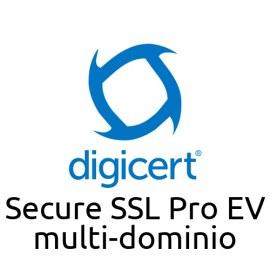 Digicert Secure SSL Pro EV con SAN