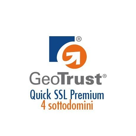 GeoTrust Quick SSL Premium SAN