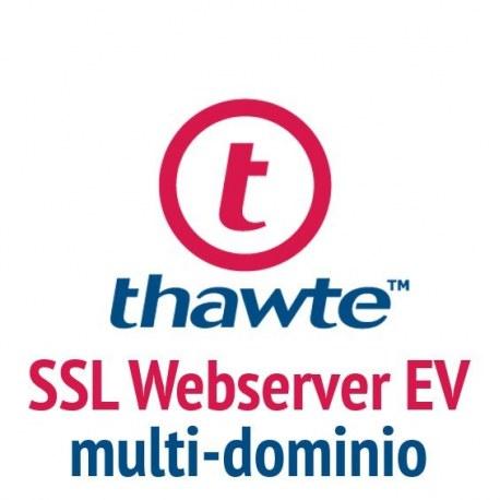 Thawte SSL Webserver EV con SAN