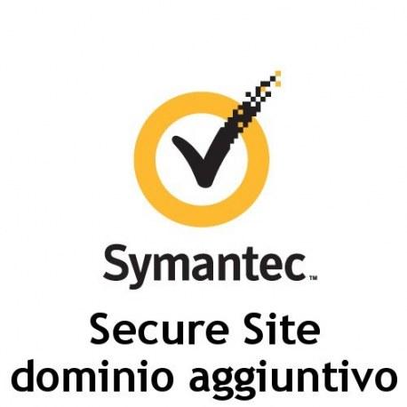 Dominio aggiuntivo Symantec Secure Site