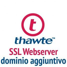 Dominio aggiuntivo Thawte SSL Webserver