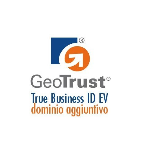 Dominio aggiuntivo Geotrust True Business ID EV