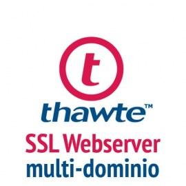 Thawte SSL Webserver con SAN
