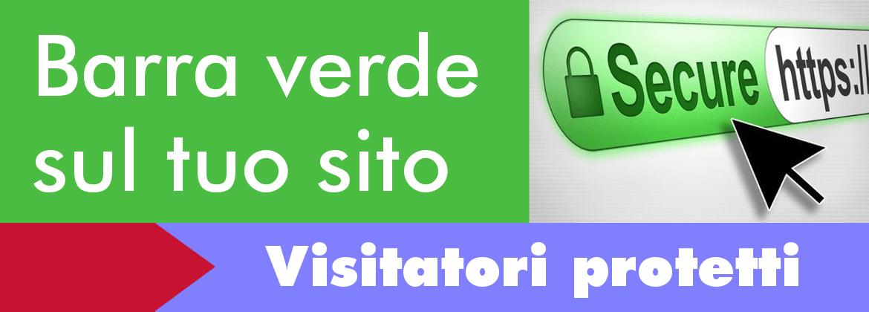Certificati SSL che mostrano la Barra Verde nel Browser